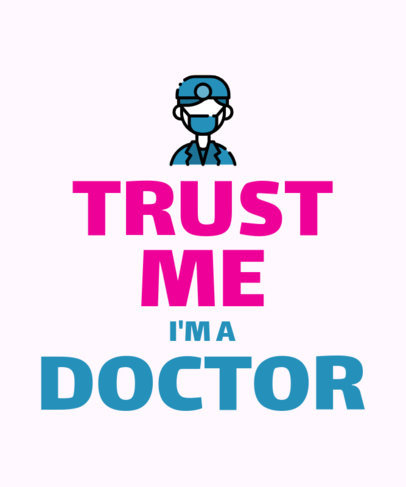 T-Shirt Design Maker with Doctor Puns 26i