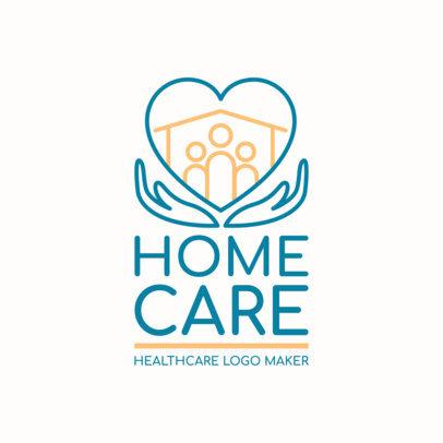 Home Health Care Logo Maker for Home Care Professionals 1806