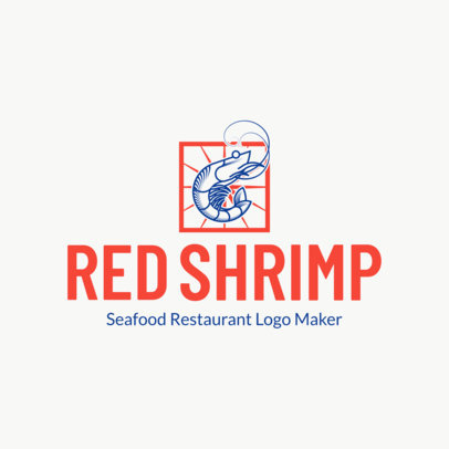 Bold Seafood Restaurant Logo Maker 1801