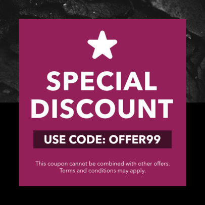 Code Coupon Design Maker for Exclusive Discounts 1030e
