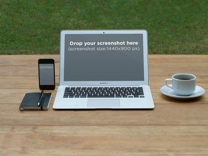 iPhone Vs MacBook Garden