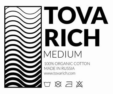 Clothing Label Design for a Modern Apparel Brand 1142