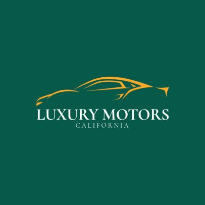 Luxury Motor Vehicle Dealer Logo Maker 1406e