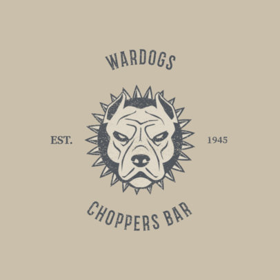 Logo Maker for a Chopper Bar 1765d