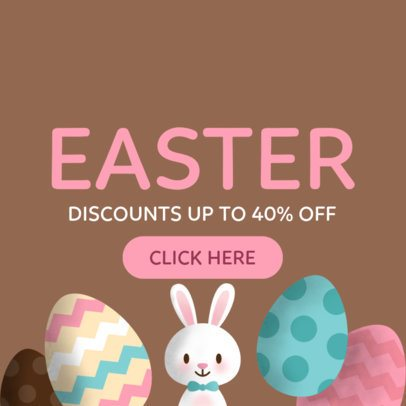 Online Banner Maker for Easter Discounts 282f