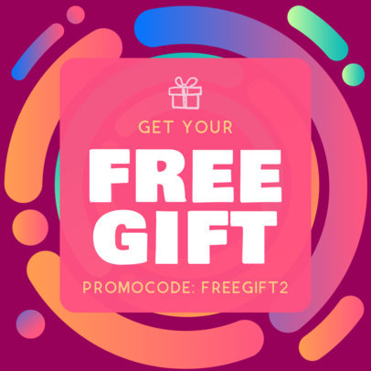 Vivid Coupon Maker for a Free Gift Promo Code 1031d