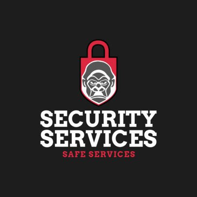 Security Logo Creator with Lock Clipart 1788b