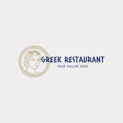 Greek Restaurant Logo Maker 1912