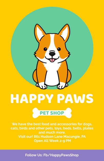 Pet Shop Flyer Maker 396