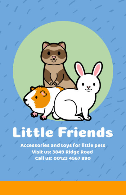 Online Flyer Maker for Pet Supply Stores 396b