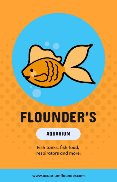 Online Flyer Maker for Aquariums 369e
