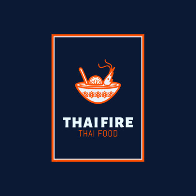 Thai Food Logo Maker for Pad Thai Restaurants