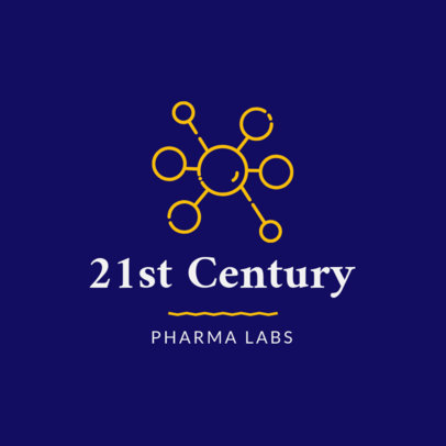 Pharmaceutical Logo Template for Labs 1857c