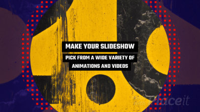 Slideshow Video Maker with Bold Animated Transitions 1451
