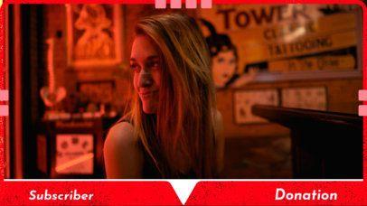 OBS Overlay Maker for a Gamer Girl Live Streamer 1198e
