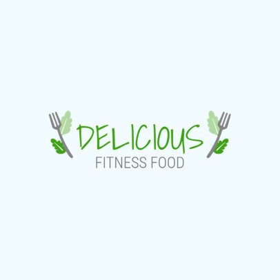Logo Generator for a Healthy Food Restaurant 1935c