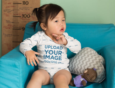 Onesie and Baby Shirt Mockups