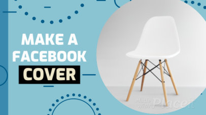 Facebook Cover Video Maker with Circle Motion Graphics