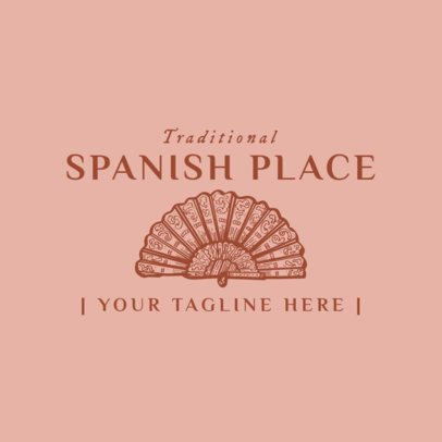 Traditional Spanish Food Logo Maker 1918e