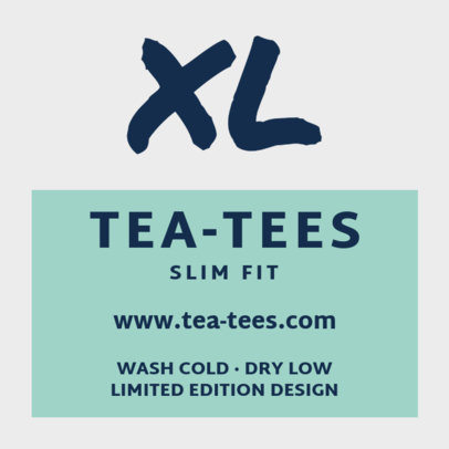 Clothing Brand Label Templates