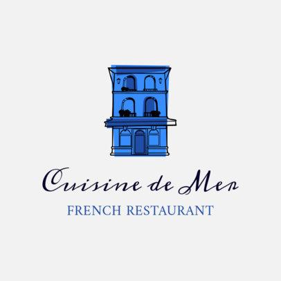 Classy French Cuisine Logo maker 1811e