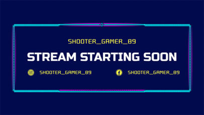 Twitch Stream Starting Soon Overlay Maker 1226