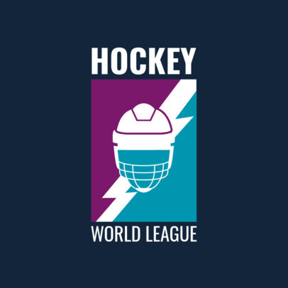 World League Field Hockey Logo Maker 1933b