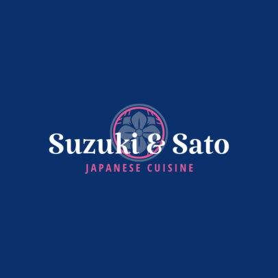 High-end Logo Maker for a Japanese Cuisine Restaurant 1823d