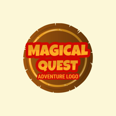 Gaming Logo Maker for Adventure Games 1875