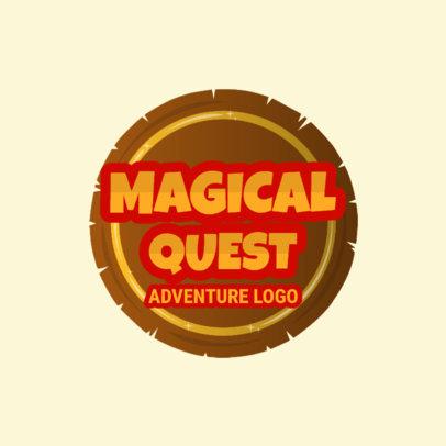 Gaming Logo Maker for Adventure Games 1875