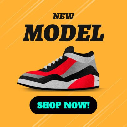 Online Banner Maker for a Shoe Brand 538a