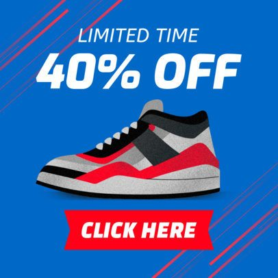 Online Banner Generator for a Sneaker Sale 538b