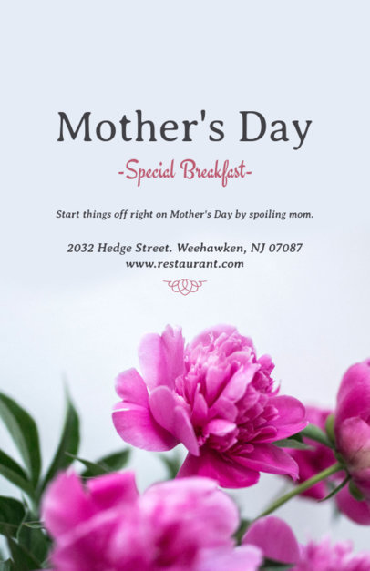 Mother's Day Online Flyer Maker for Florists