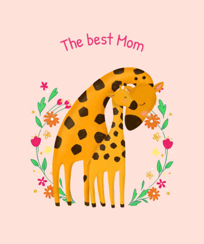 Cute T-Shirt Design Maker for Mother's Day 827g