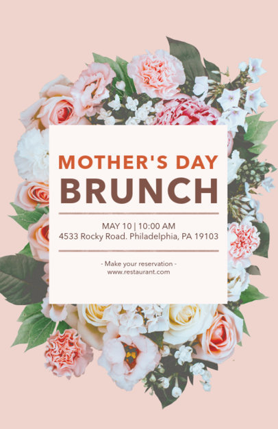 Online Flyer Maker for a Mother's Day Event