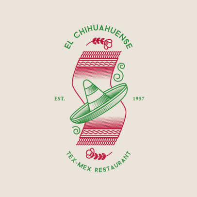 Modern Logo Maker for a Mexican Restaurant 1934c