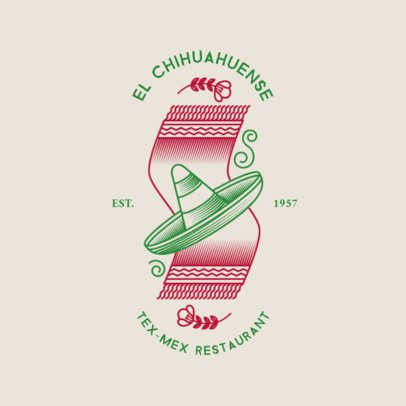 Modern Logo Maker for a Mexican Restaurant 1934c