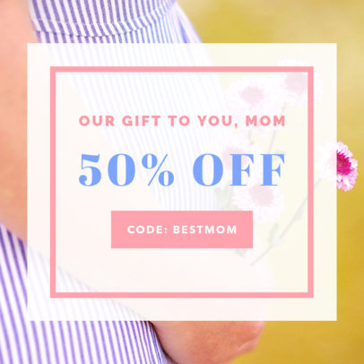 Mother's Day Sale Online Banner Maker 269g