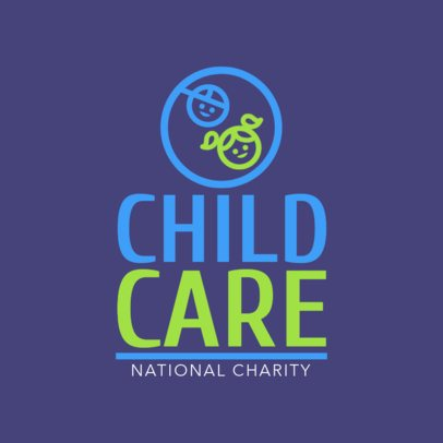 National Charity Logo Template 1507d