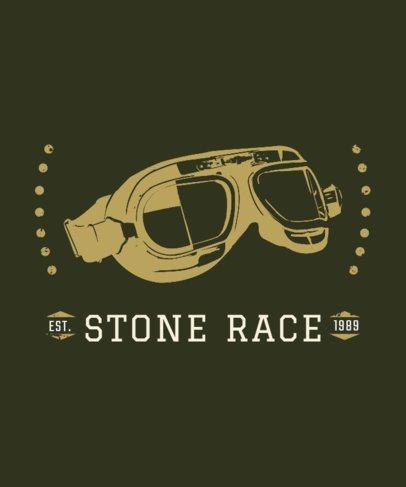 Bike Racing Club T-Shirt Design Template 330c
