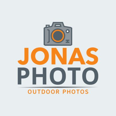 Outdoors Photographer Logo Maker 1439c