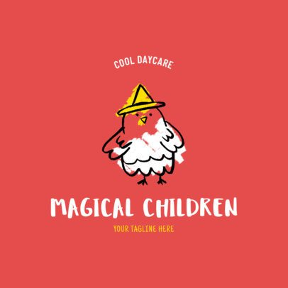 Cool Daycare Logo Maker 1928a