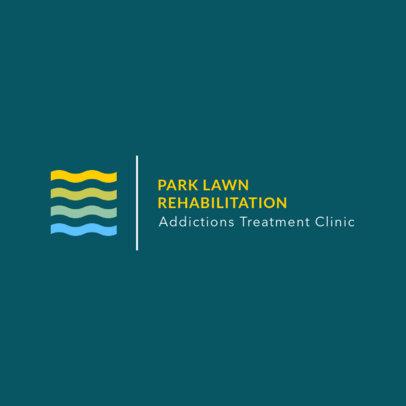 Online Logo Generator for a Rehab Clinic 1504e
