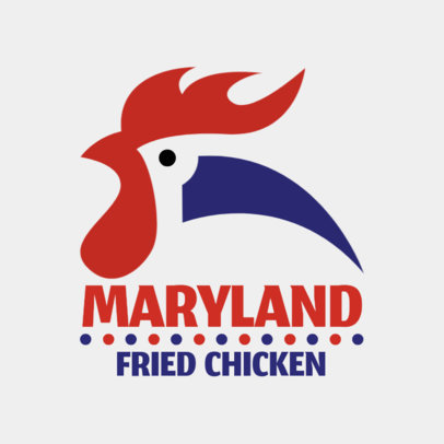 Fresh Logo Design Template For Fried Chicken Restaurant 1231a