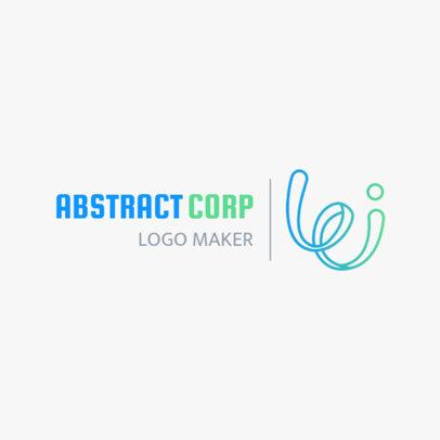 Minimalist Abstract Logo Design Generator 1530d