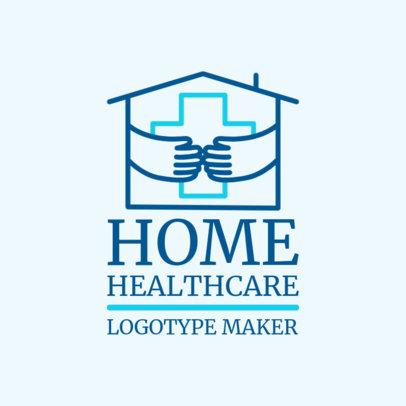 Home Health Care Logo Design Maker with Health Graphics 1806a
