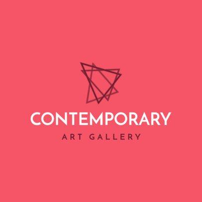 Logo Creator for a Contemporary Art Gallery 1209h