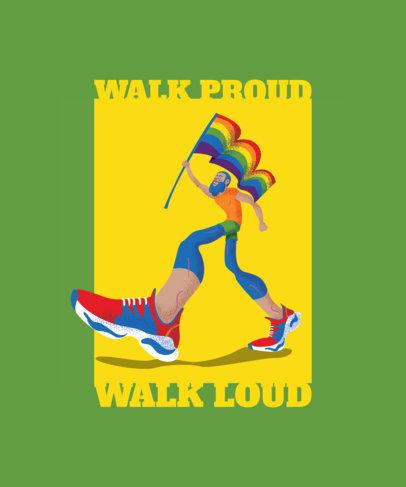 Modern LGBTQ Pride T-Shirt Design 1293