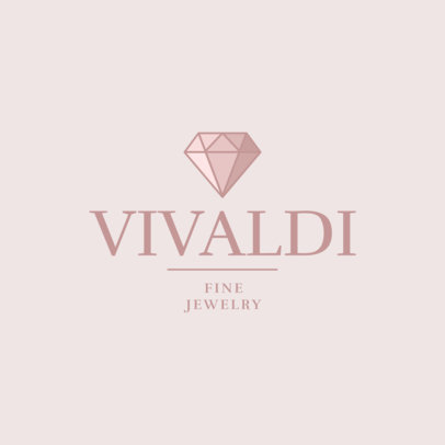 Fine Jewelry Store Logo Template with a Sophisticated Design