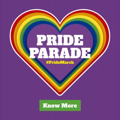 LGBTQ Pride Ad Maker 1295